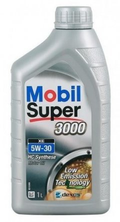 Моторное масло Mobil Super 3000 XE 5W30 1л